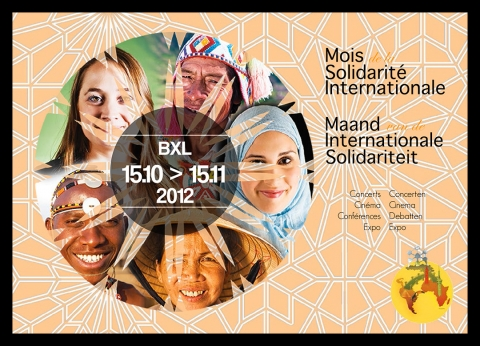 Rhode Makoumbou in «Mois de la Solidarité Internationale / Maand van de Internationale Solidariteit» (za 03 nov 2012)
