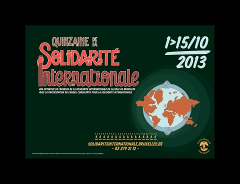 Rhode Makoumbou in «Quinzaine de la Solidarité Internationale» (za 05 okt 2013)