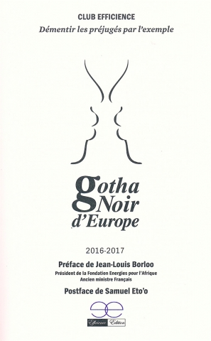 Rhode Makoumbou dans «Gotha Noir d'Europe 2016-2017» de Club Efficience (jan 2016)