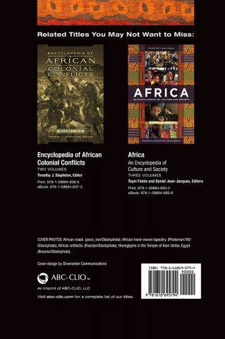 Rhode Makoumbou dans «Africa, an encyclopedia of culture and society» de Toyin Falola & Daniel Jean-Jacques (jan 2016)