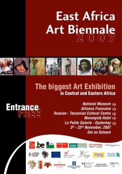 «East Africa Art Biennale 2007 - The biggest Art Exhibition in Central and Eastern Africa» @ La Petite Galerie, Dar-es-Salaam, Tanzania (November 2007)