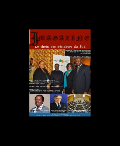 Rhode Makoumbou in «Imagazine» (apr 2012)