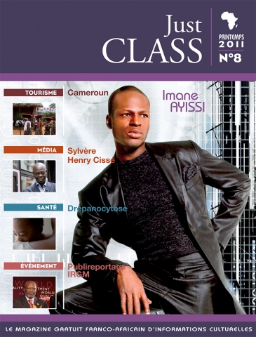 Rhode Makoumbou dans «Just Class», magazine n° 8 (jun 2011)