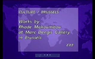 «Works by Rhode Makoumbou at Marc Dengis Gallery in Brussels» : voir Rhode Makoumbou sur TV5 Monde